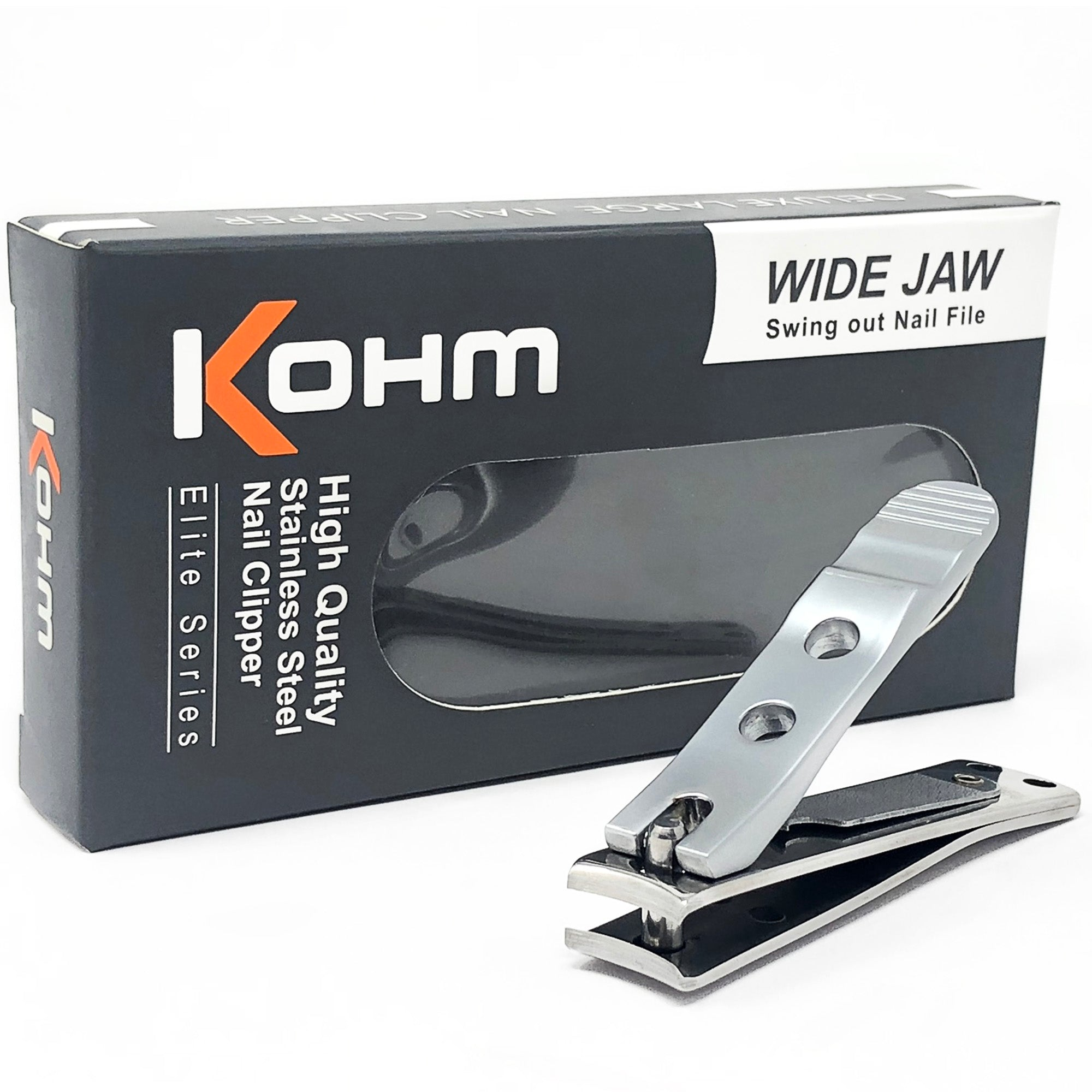 Kohm WHS-440L - Heavy Duty, Wide Jaw, Curved Blade Clipper