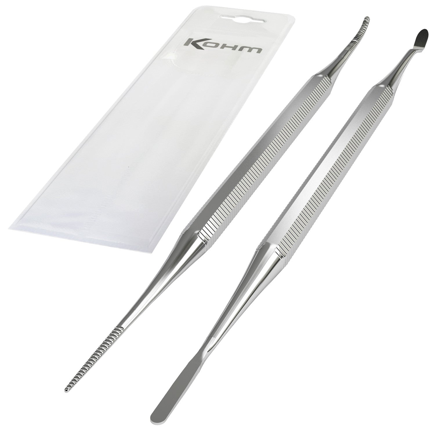 Kohm KP-7100 Stainless Steel, Ingrown Toenail File & Lifter Set