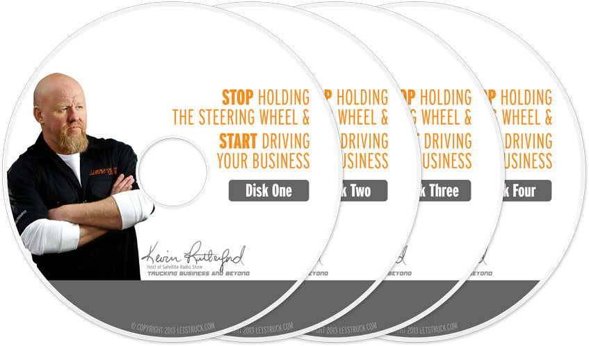 Let's Truck Audio Book Program Stop Holding the Steering Wheel and Start Driving Your Business