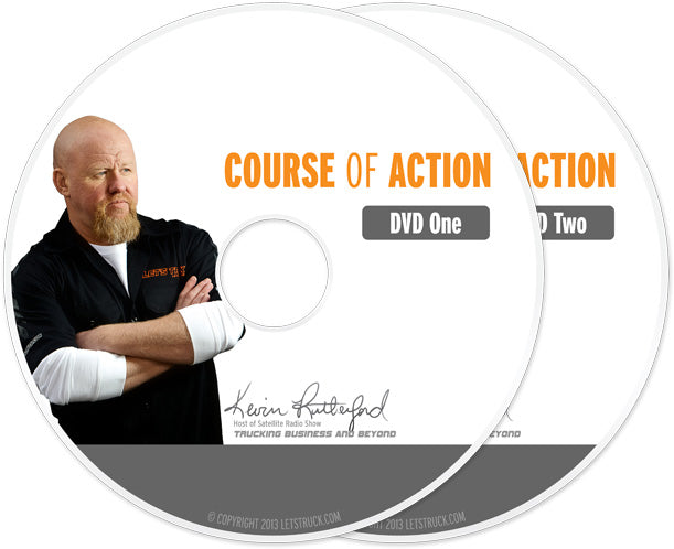 Let's Truck DVD Set Course of Action