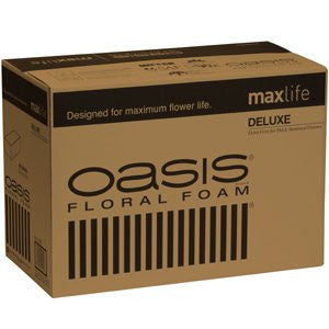 OASIS Deluxe Floral Foam Maxlife Case-Floral Foam-Smithers-Oasis-48-