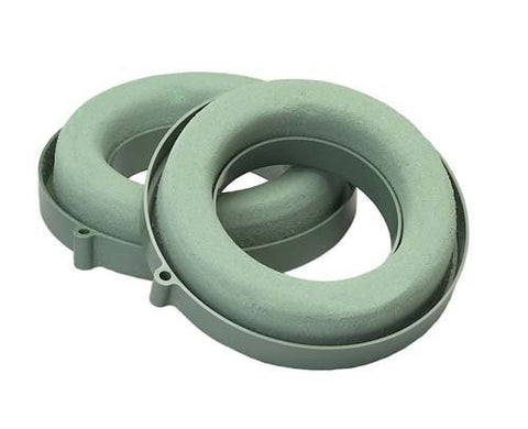 OASIS Ring Holder Floral Foam Wreath-Floral Foam Shapes-Smithers-Oasis-6 in-24-