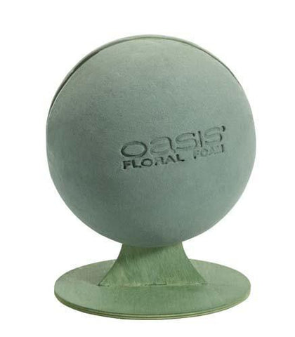 OASIS Floral Foam Sphere with stand-Floral Foam Shapes-Smithers-Oasis-3-