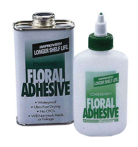 OASIS Floral Adhesive, 8oz Can Case-Florist Tape & Adhesives-Smithers-Oasis-20-