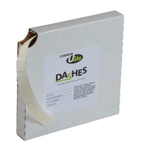 UGLU Adhesive Dashes Bulk Case-Florist Tape & Adhesives-Smithers-Oasis-12-