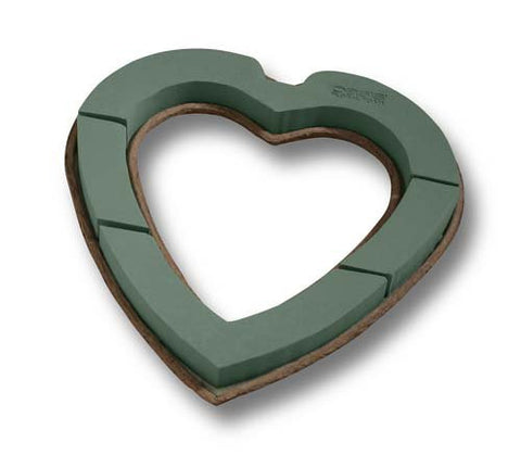 OASIS Mache Open Heart Floral Foam-Floral Foam Shapes-Smithers-Oasis-12 in-4-