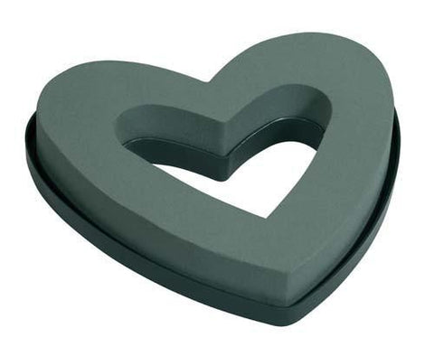 "9"" Open OASIS Mini Heart-Floral Foam Shapes-Smithers-Oasis-12-"