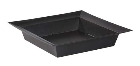 ESSENTIALS Large Square Bowl Vase-Plastic Flower Vases-Smithers-Oasis-Onyx-24-