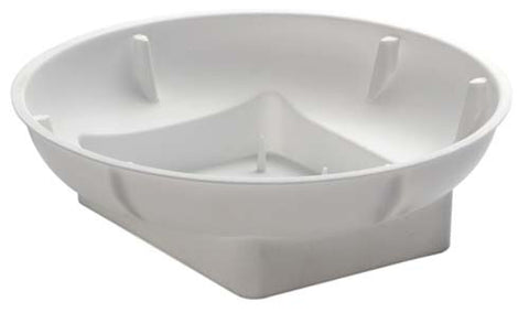 OASIS Single Bowl-Flower Containers-Smithers-Oasis-Snow-48-