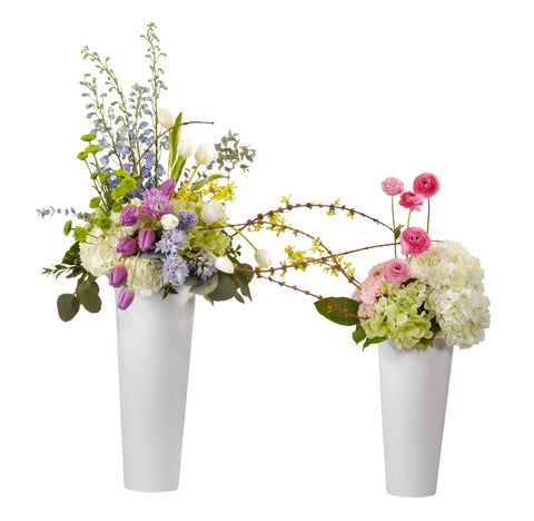 OASIS Flower Display Buckets-Flower Containers-Smithers-Oasis-Clear-10 in-12