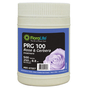 Floralife PRG Treatment for Cut Roses and Gerberas-Cut Flower Care-Smithers-Oasis-500 tablets/bottle-24-