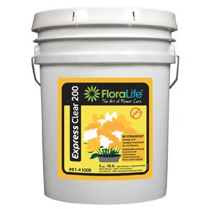 Floralife Express Clear 200 Storage & Transport-Cut Flower Care-Smithers-Oasis-5 gallons-1-