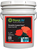 Floralife CRYSTAL CLEAR Flower Food 300 Liquid-Cut Flower Care-Smithers-Oasis-2.5 gallons with pump-1-