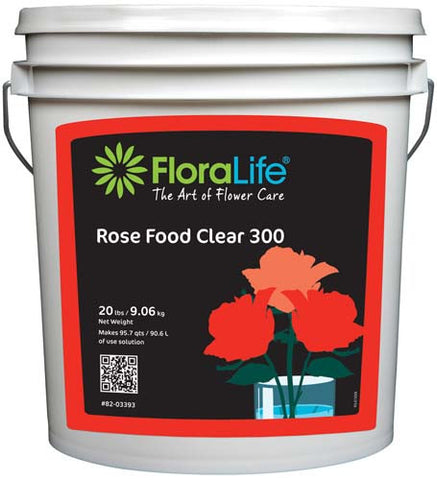 Floralife Rose Food Clear 300 Powder-Cut Flower Care-Smithers-Oasis-20 lb.-1-