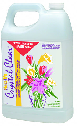 Floralife CRYSTAL CLEAR Flower Food 300 Liquid for Hard Water