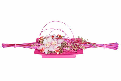 OASIS Midollino Flower Sticks-Floral Design D?_cor-Smithers-Oasis-Natural-10-