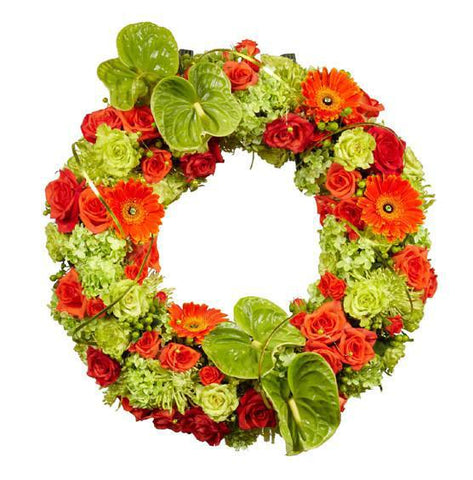 "21"" OASIS Mache Oval Wreath-Floral Foam Shapes-Smithers-Oasis-21 in-4-"