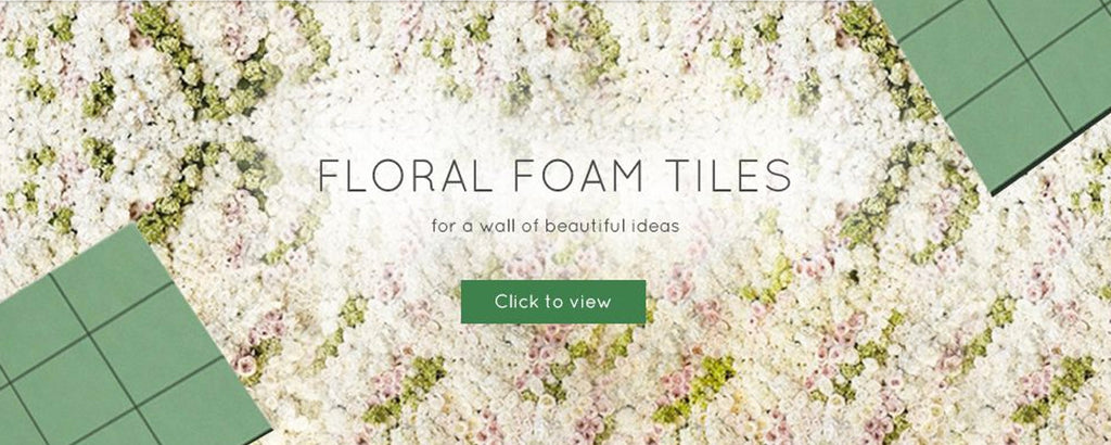 Floral Foam Flower Wall Supplies