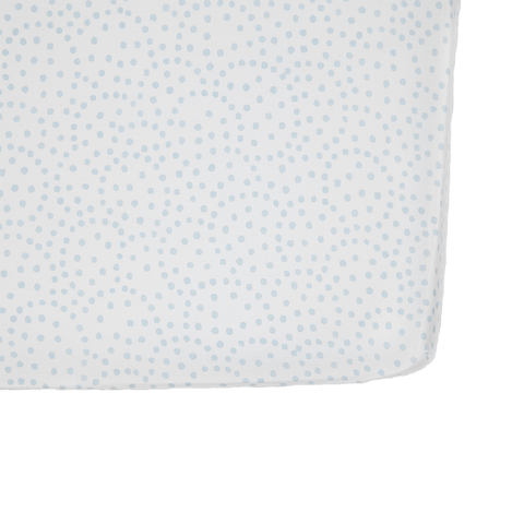 Blue Dots Crib Sheet - Pehr
