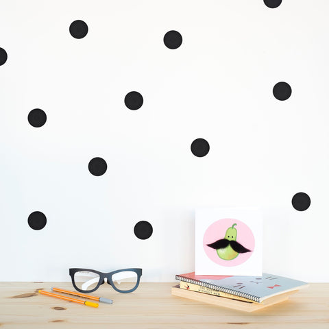 Wall Decal Pattern Black Dots - Made of Sundays