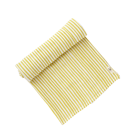 Citron Stripes Swaddle - Pehr