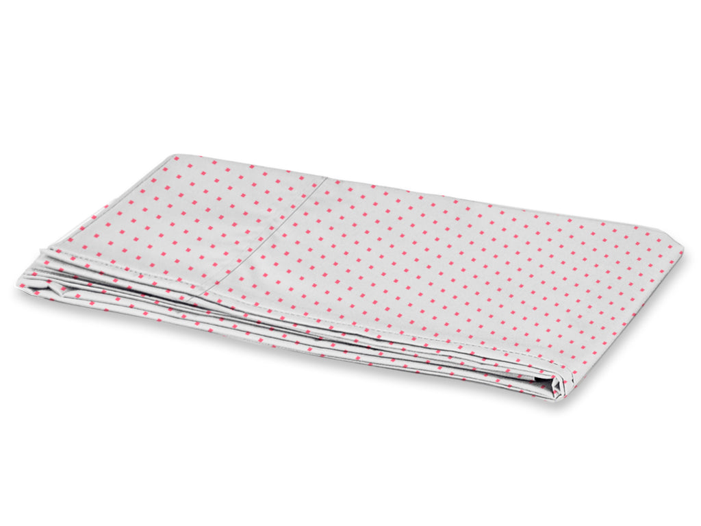 Funda de Almohada Comfort - Stripes Checks Rosa