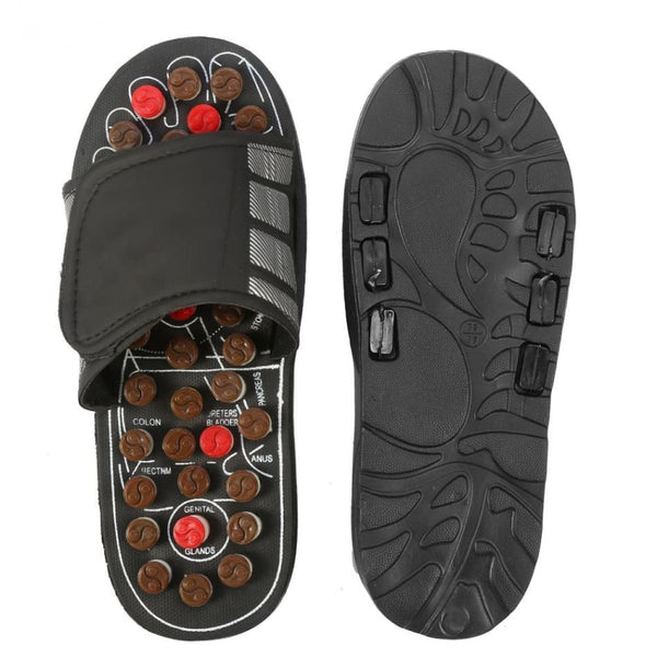 Acupressure Slippers | Therapeutic Reflexology Foot Massage Sandals Acupressure Slippers