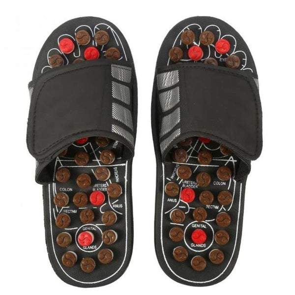 Acupressure Slippers | Therapeutic Reflexology Foot Massage Sandals 44 45 Acupressure Slippers