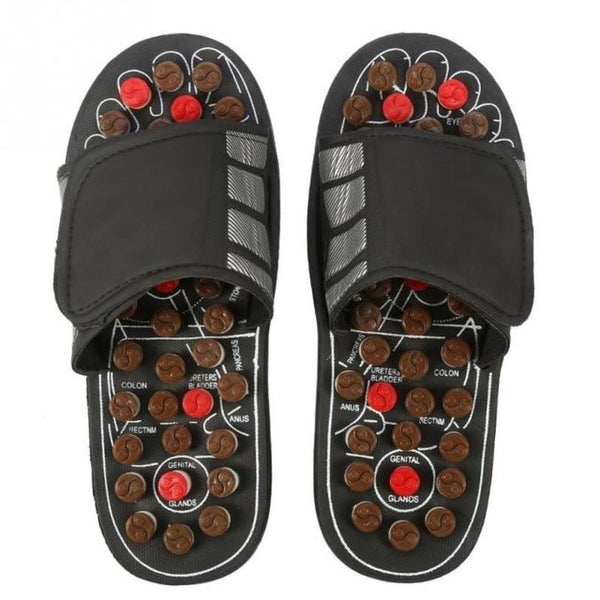 Acupressure Slippers | Therapeutic Reflexology Foot Massage Sandals 42 43 Acupressure Slippers