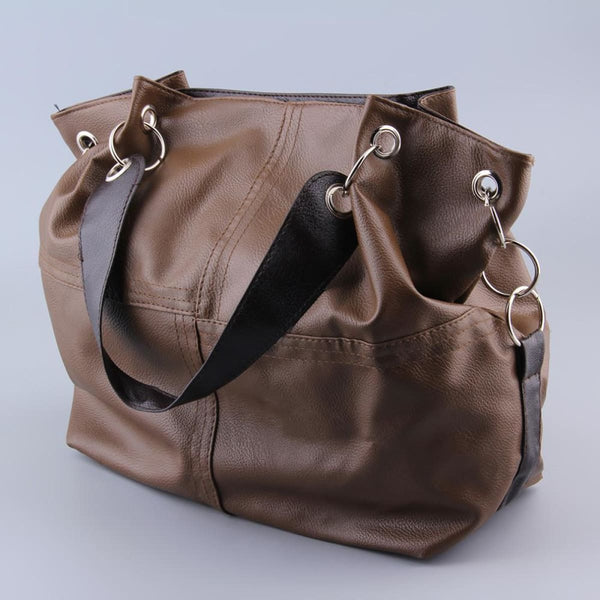 Awesome Vintage Leather Messenger Bag Tote Shoulder Bags