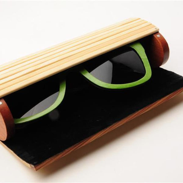 Bamboo Sunglasses Case Wooden Sun Glasses Box Eyeglass Accessories Accessories