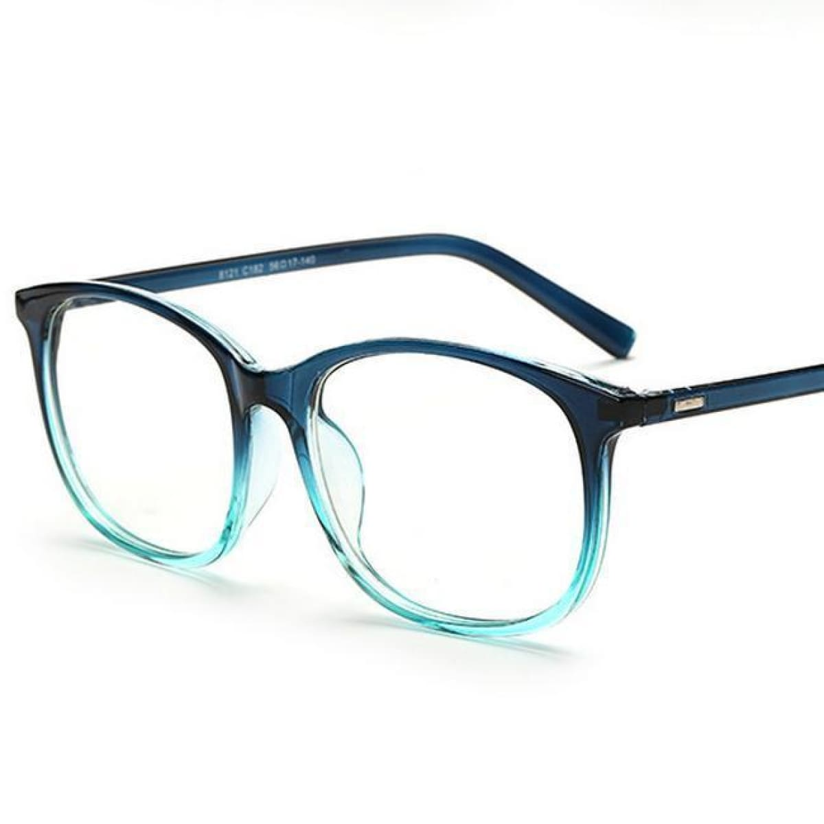 Black and blue round frame luxury Glasses for women - oculos eye ...