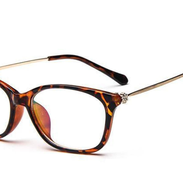 Cat Eye Retro Eyeglasses Clear Lens Eyewear Frame - Oculos De Grau