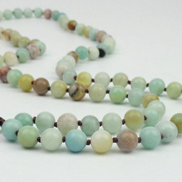 Czech Jasper Natural Stone Rhinestone Beads Necklace Home