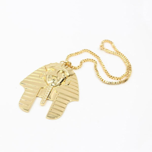 Egyptian Pharaoh Head Pendant Necklace Pendant Necklace