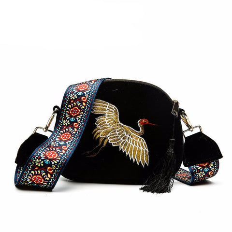 Embroidered Handbags, Purses, and Totes