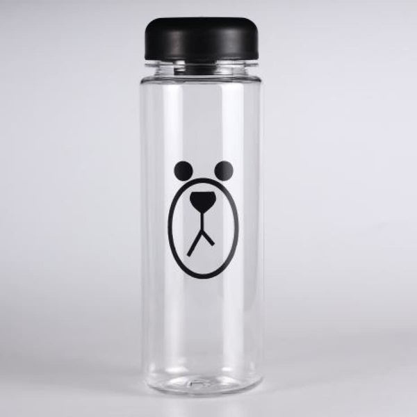 Garrafa Fruit My Water Bottle Infuser 500Ml Sports Water Bottle Bottle Bear Black
