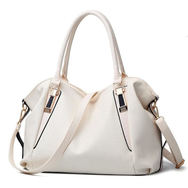 H Fashion Designer Leather Tote Handbag White / China / 32X27X10Cm Leather Handbag