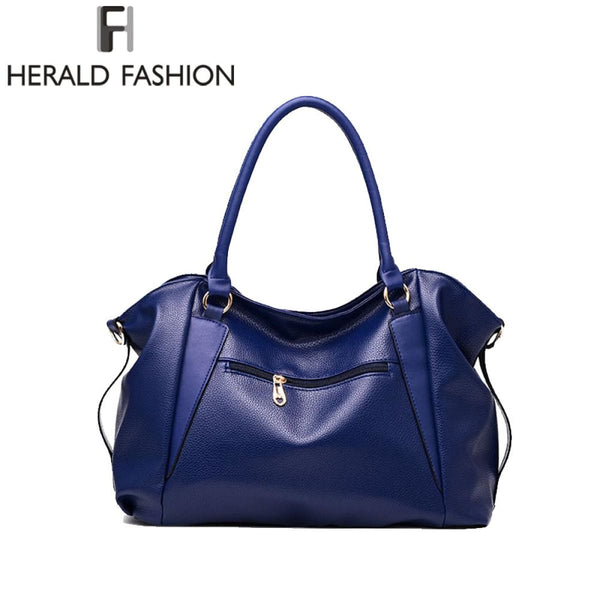 H Fashion Designer Leather Tote Handbag Leather Handbag