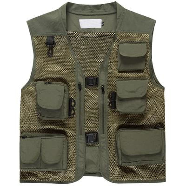 Level 1 Multifunctional Tactical Vest Army Green / M Tactical Vest