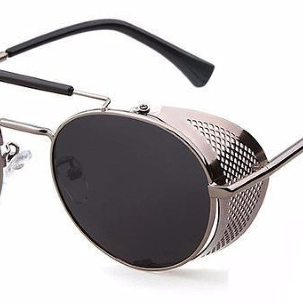 Metal Shield Steampunk Sunglasses A3 Steampunk Sunglasses