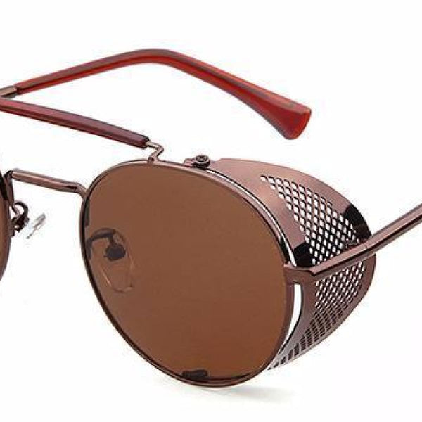 Metal Shield Steampunk Sunglasses A6 Steampunk Sunglasses