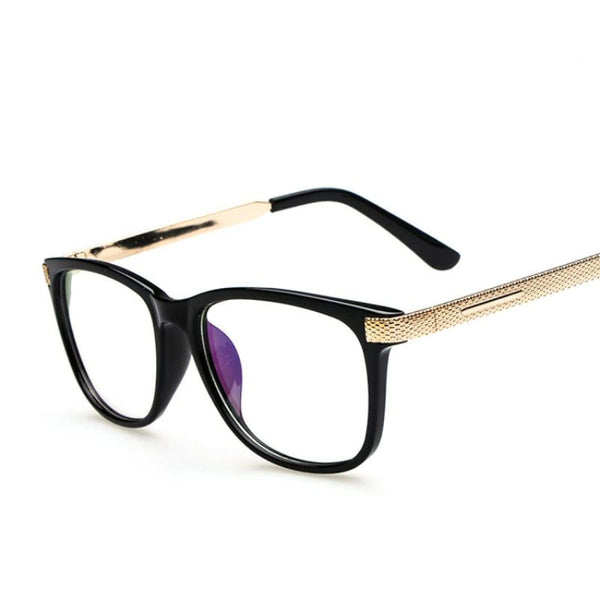 Myopia Retro Vintage Anti-Radiation Eyeglasses Optical Glasses Frame Plain Eye Glasses - Oculos De Grau Femininos