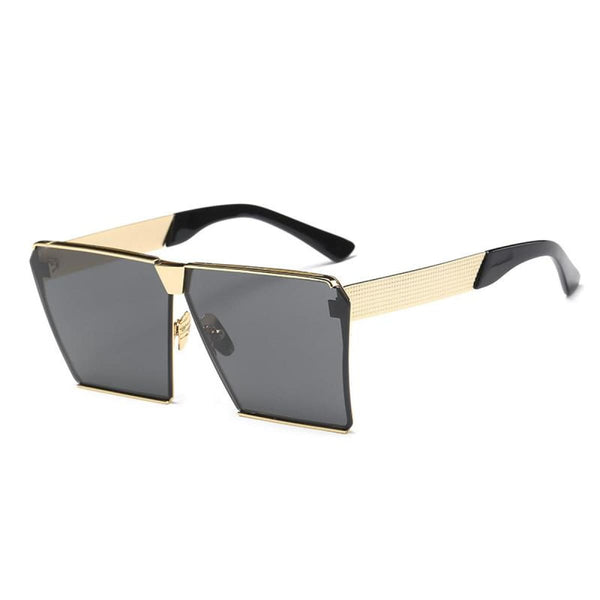 Rg 217 Sunglasses - Newest Design Gold Grey Lens Sunglasses