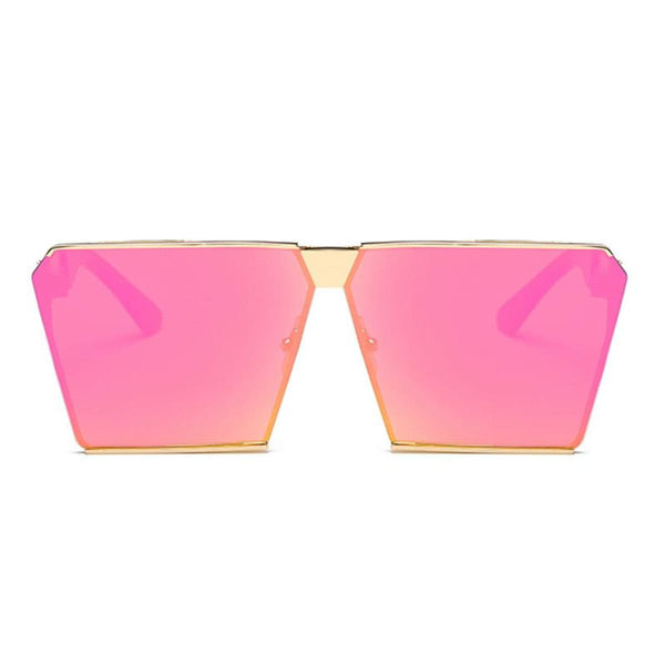 Rg 217 Sunglasses - Newest Design Hot Pink Mirror Lens Sunglasses