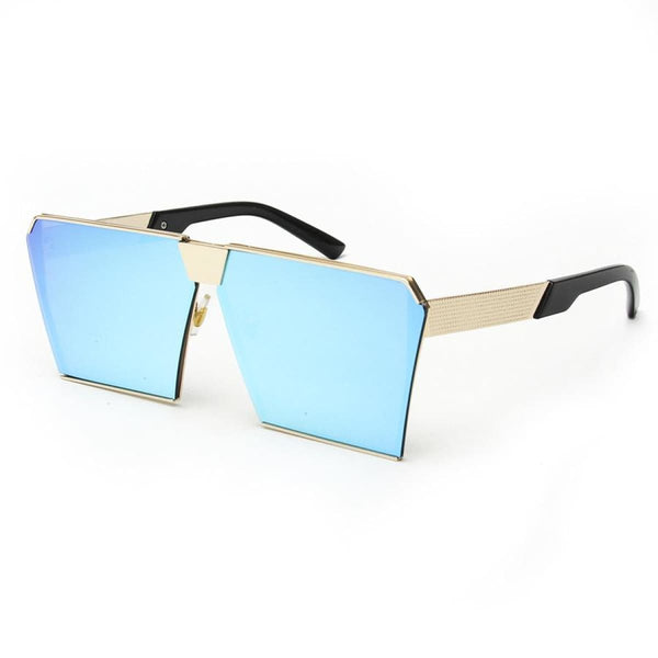Rg 217 Sunglasses - Newest Design Gold Frame Bule Sunglasses