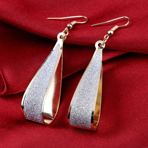 Silver Or Gold Crystal Drop Dangle Earrings Drop Earrings