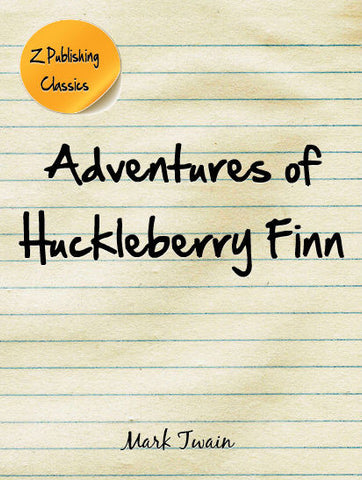 Adventures of Huckleberry Finn (PDF)