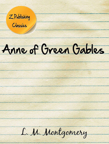 Anne of Green Gables (PDF)