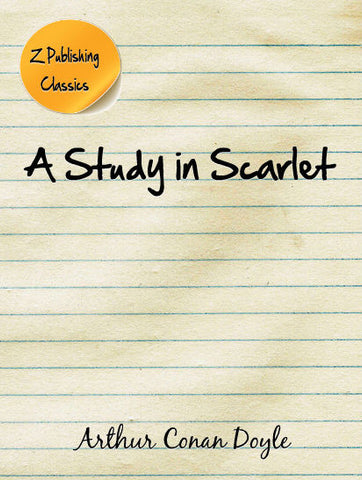 A Study in Scarlet (EPUB)